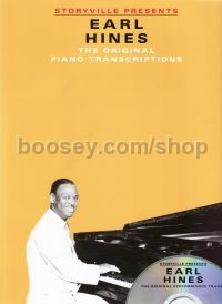 Storyville Presents: Earl Hines (Book & CD)