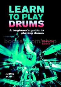 Learn To Play Drums (Bk & CD)