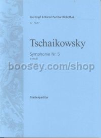 Symphony No.5 Op 64 in E minor (study score)