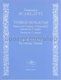 Three Sonatas for harp
