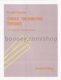 Three Trombone Themes (Bass/Treble clef)
