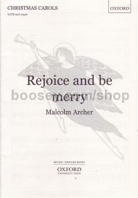 Rejoice And Be Merry (SATB & organ)