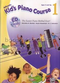 Kid's Piano Course 1 (Bk & CD)