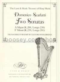 Two Sonatas for harp