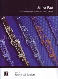 38 More Modern Studies - clarinet