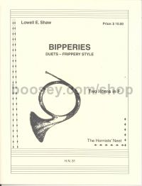 Bipperies - duets-frippery style (for 2 horns in F)