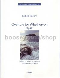 Overture to Whethoryon Op 80 for wind decet