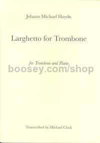 Larghetto for trombone & piano