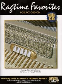 Ragtime Favorites For Accordion (Bk & CD)