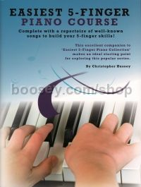 Easiest 5 Finger Piano Course