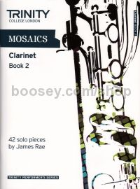 Mosaics For Clarinet Book 2 - Grades 6-8