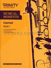 Musical Moments Clarinet Book 1 - Score & Part
