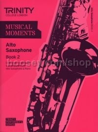 Musical Moments Alto Saxophone Book 2 - Score & Part