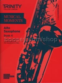 Musical Moments Alto Saxophone Book 4 - Score & Part
