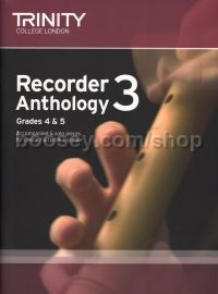 Recorder Anthology Book 3 - Grade 4-5
