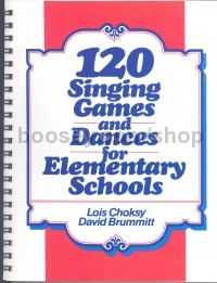 Singing Games & Dances (120) For Elementary Schools