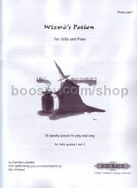 Wizard's Potion for cello - Piano accompaniment