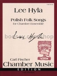 Polish Folk Songs (chamber ensemble) full score