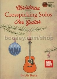 Christmas Crosspicking Solos For Guitar (Bk & CD)