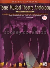 Teens Musical Theatre Anthology - female edition (Bk & CD)