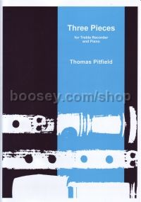 Three Pieces Treble Recorder & Piano
