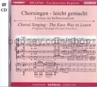 Ein Deutsches Requiem Op. 45 (CD Only) (MusicPartner Play-Along series) Soprano Part