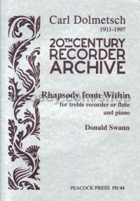Rhapsody From Within (treble recorder/flute and piano)