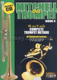 Mitchell on Trumpet, Book 4 (+ CD)