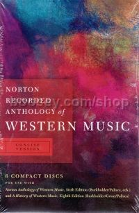 Recordings to accompany The Concise History of Western Music