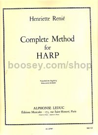 Complete Method (Methode Complete) for Harp