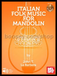 Italian Folk Music For Mandolin (Bk & CD)