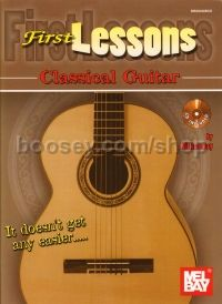 First Lessons: Classical Guitar (Bk & CD)
