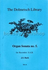 Organ Sonata no. 5 - 3 recorders