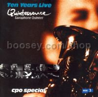 Quintessence Saxophone Quartet (CPO audio CD)
