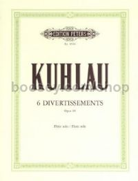 6 Divertissements, Op. 68, for unaccompanied flute