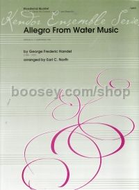 Allegro from Water Music for woodwind quintet