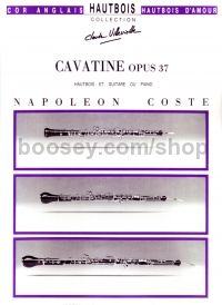 Cavatine Op. 37 for oboe and guitar or piano