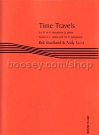 Time Travels, arr. Buckland and Scott (Eb accomp)