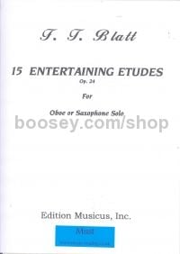 15 Entertaining Etudes Op. 24 for Oboe