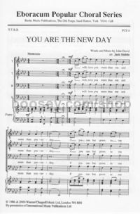 You Are The New Day (TTBB)