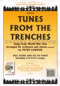 Tunes from the Trenches (Orchestra Pack)