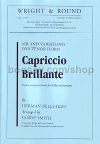 Capriccio Brillante: Air & Variations for Tenor Horn
