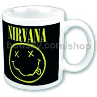 Nirvana Boxed Mug Smiley