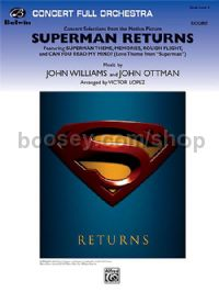 Superman Returns: Concert Selections (Concert Full Orchestra Score & Parts)