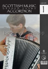 Scottish Music Graded Exams Accordion - Grade 1 (2014-2020)