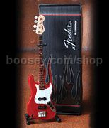Fender Jazz Bass - Classic Red Finish (Miniature Guitar)
