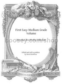 First Easy-Medium Grade Volume for harp