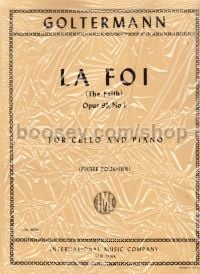 La Foi (The Faith), Op. 95 No. 1 - cello & piano