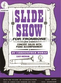 Slide Show for trombone (treble clef) (with CD)