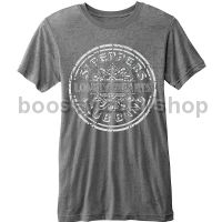 T-Shirt - Burn-out Sgt Pepper Drum (Men's Medium)